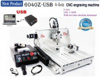USB Port CNC 6040 Z-USB 1.5KW 4 Axis Milling Router Engraving Machine Desktop Engraver Mach3 Control