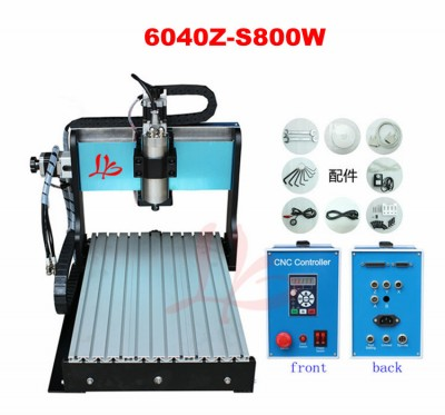 CNC router 6040 Z-S 800W with Mach3 software control