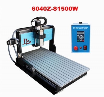 Desktop CNC milling machine with 1.5KW spindle motor