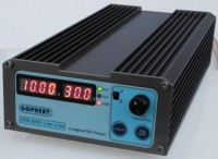 CPS-3010 300W (110Vac/ 220Vac) 0-30V/0-10A, Gopher Compact Digital Adjustable DC Power Supply CPS3010