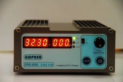 CPS-3205 160W (110Vac/ 220Vac) 0-32V/0-5A,Compact Digital Adjustable DC Power Supply CPS3205