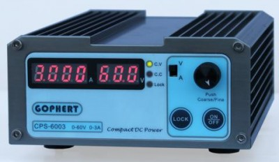 CPS-6003 180W (110Vac/ 220Vac) 0-60V/0-3A,Compact Digital Adjustable DC   Power Supply CPS6003