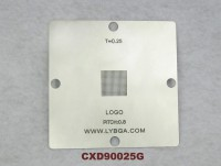 80mm * 80mm PS4 Stencil CXD90025G for bga rework