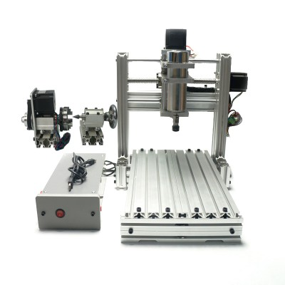 Engraving machine DIY CNC 3020 metal CNC Router Engraving Drilling and Milling Machine