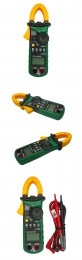 Mastech MS2108A Auto Range DC AC Current Digital Clamp Meter Multimeter Voltage Frequency Meter Tester Backlight