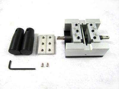 Direct heat reballing station with handle, direct heating BGA stencils holder