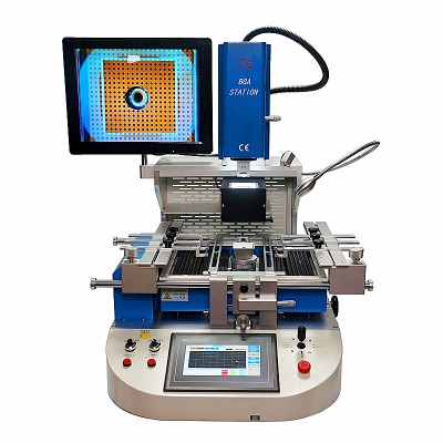 LY G720 Semi-automatic align BGA Rework Station With Reball Kit for Laptops/Game consoles 220V