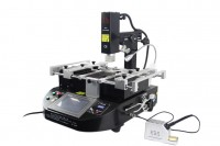 LY HR560 2 in 1 model BGA Rework Station,3 Zones,touch screen control,build in 70W lead-free solder