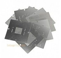 12pcs/set, 90mm*90mm Universal Stencils bga reballing kit