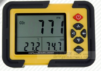 HT2000 significant number of carbon dioxide detector CO2 detector to monitor air quality
