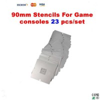 23 pcs/set BGA Reballing 90mm*90mm Game console Stencils for PS3, Xbox 360, Wii, etc