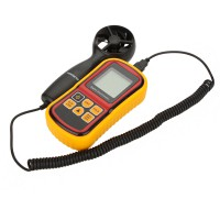 GM8901 High Accuracy Anemometro LCD Digital Anemometer Wind Meter Air Velocity Temperature Meter Measuring 0~45m/s