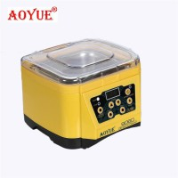 AOYUE 9060 220V washing machine desktop digital ultrasonic cleaner can clean jewelry