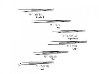 6pcs/lot bga tweezers bga kit for BGA reparing,best price bga accessories,also have VETUS tweezers HOT