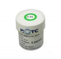 PMTC 250k 0.2,0.25,0.3,0.35,0.4,0.45,0.5,0.55,0.6,0.65,0.76mm leaded solder balls for BGA rework reballing