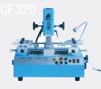 New, BGA rework machine CF320, 2300W BGA soldering station, lead free & leaded work, 3 temperature zones