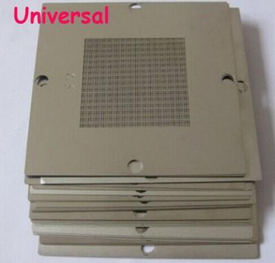 10 pcs/set 90 x 90 mm Bga Stencil Kit for Laptop Universal Reballing