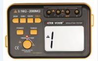 VC60B+ DCV ACV Digital Insulation Resistance Tester Megger MegOhm Meter DC250/500/1000V AC750V 0.1~2000M +