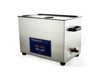 PS-100A 600W 30L industrial ultrasonic cleaner Jeken Digital Ultrasonic Cleaner with free cleaning basket