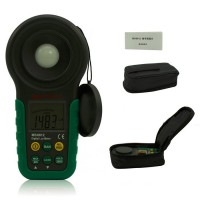 Mastech MS6612 LUX Illuminometer Lux Meter light meter foot candle auto range peak