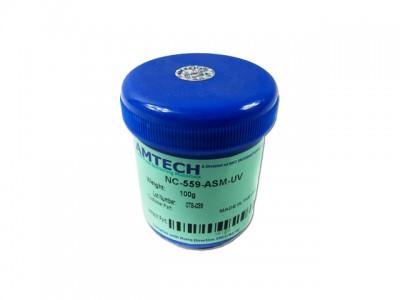 The original AMTECH NC-559-ASM help solder paste solder flux welding paste 100g