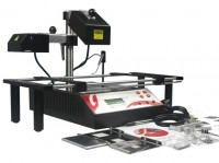 Jovy Re-7500 infrared BGA rework station with IR reflectors