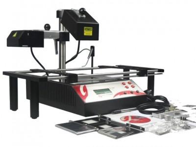 Jovy Re-7500 infrared BGA rework station with IR reflectors