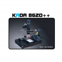 220V 110V KADA 862d++ 4 in 1 full auto IRDA Infrared soldering station BGA rework station