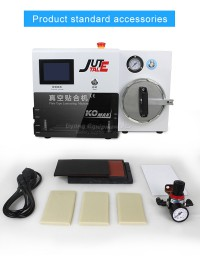 LY KO-MAX plate type OCA laminating machine 7 inches built-in bubble defoam machine 220V 110V