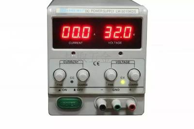 LW-3010KDS debugging power regulator can supply 30V / 10A