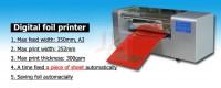 LY 400B foil press machine digital hot foil stamping printer machine  best sales color business card printing