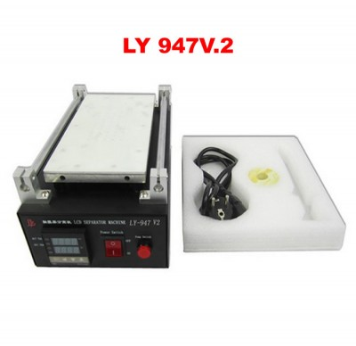 LY 947V.2 LCD separator machine with vacuum pump automatic separator hot plate machine