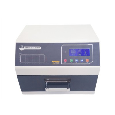 2400W 220V Digital display reflow welding machine LY 962C with programmable reflow oven