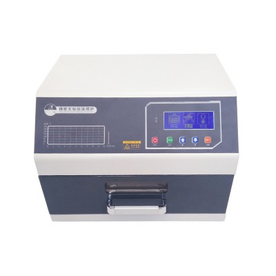 3600W 220V 110V reflow welding machine LY 962D Digital display with programmable reflow oven