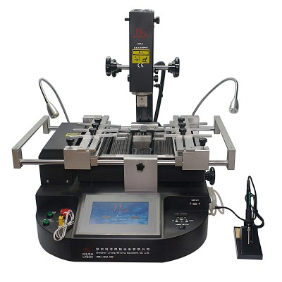 LY HR560 HR560C BGA Rework Station 3 zones hot air built in lead-free solder iron 60W