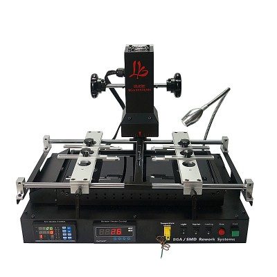 Free shipping LY IR8500 Dark infrared 2 stages BGA Rework Station upgraded on IR-PRO-SC
