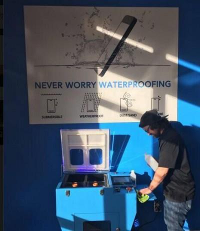 LY NM-12 Tablet nano coating machine mobile waterproof vacuum nano coating machine