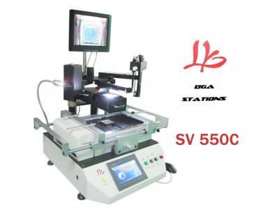 LY SV550C BGA chip repair machine with optical alignment system, high quality bga machine upgrade from SV550
