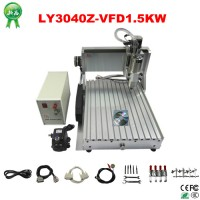 Hot Sale! Mini CNC 3040 / CNC router price, 3 axis 1.5kw spindle water cooled cnc engraving machine