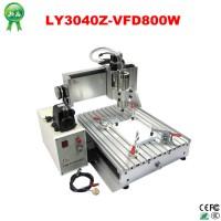 800W Spindle CNC 3040 Best Mini CNC Carving Machine Router For Sale aluminum