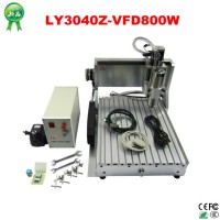 800W Spindle CNC 3040 Best Mini CNC Carving Machine Router For Sale aluminum