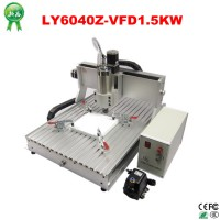 6040 CNC Router 1.5KW spindle + 1.5KW VFD CNC cnc 6040 engraver engraving / drilling and milling machine 220V/110V