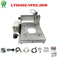 Multi-function 4 axis cnc router 6040 cnc 3D with CE, ISO / wood cnc router price 2.2kw spindle CNC Woodworking Tool