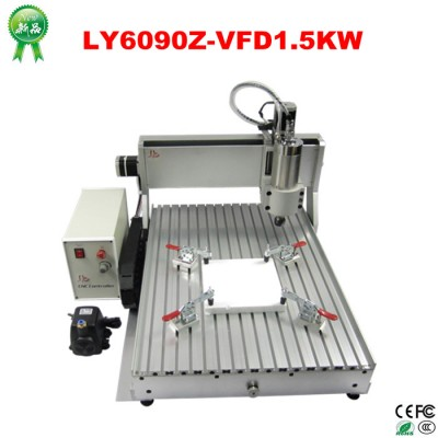 6090 1.5kw Water Cooling Spindle Mini Advertising CNC Router