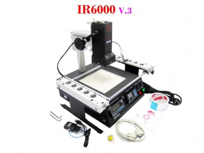 LY IR6000 BGA rework station with K-type thermocouple sensor