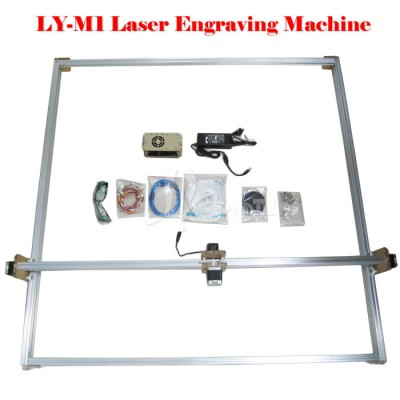 LY M1 Blue Violet Laser Engraving Machine Mini DIY Laser Engraver IC Marking Printer Carving Size 100*100CM