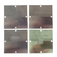 90x90mm BGA reballing stencils solder ball steel template for PS4 BGA IC reball station