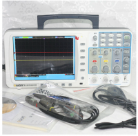 All New Free DHL OWON Portable Digita Oscilloscope SDS6062E-V SDS6062 8 inches TFT 10M recorder 60MHz 2+1 channels Automotive