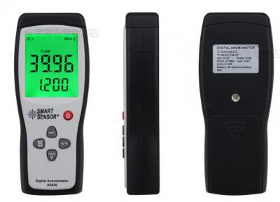 Smart Sensor AS836 Digital anemometer wind speed meter