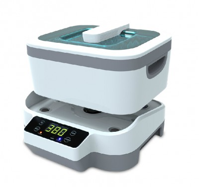 detachable ultrasonic cleaner JP-1200 1.2L for denture/eyeglass/jewelry cleaning